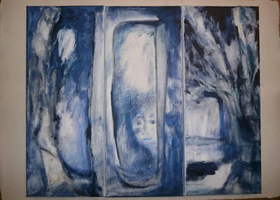 Spiegel aus Eis